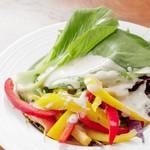 ステーキ食堂BECO - 瑞々しい葉野菜たち♪