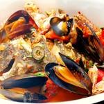 Pizzeria&Café PEPE - 鮮魚のズッパディペッシェ(イタリア風の煮付け料理)