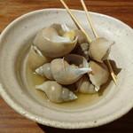 魚猫 - 白バイ貝の旨煮