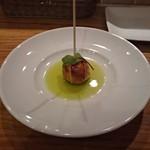 ル・コントワール・ド シャンパン食堂 - 京鴨とフォアグラ