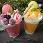 ゆめの樹 - 夏の氷パフェ ¥390
