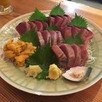 鮨 和食 ひとしずく - 鰹と雲丹