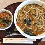 8992105 - 生碼麺とミニヒレカツ丼セット