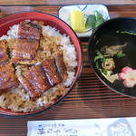 89920070 - うな丼特上2000円(上3、中2切れ)
