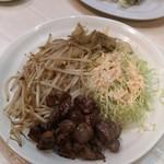 喜楽 - 砂肝炒め