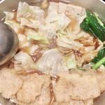 ぢどり屋 大和 - スタミナ鍋