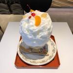 89923641 - 杏仁豆腐の白くま