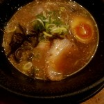 尾木場 - つけ麺 スープ