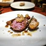 ボッテガ - ☆島豚のロースト、アンチョビとバター、レモンのコンフィ 5400円
