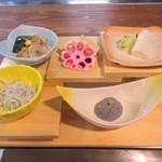 和食処 秀 - 鯛釜めしセット1250円
