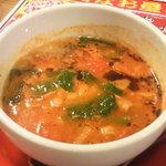 九州らーめん 亀王 - 冷やしトマトつけ麺