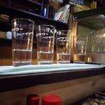 狭山 - こうやって置いてある宝焼酎