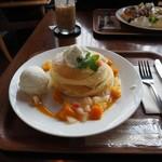 カフェ lx - 季節のパンケーキ