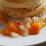 カフェ lx - 季節のパンケーキアップその4