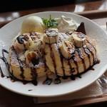 カフェ lx - チョコバナナ