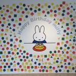 Chibuneya - うさこちゃん、ちょうどお誕生日のマイレビちゃんに写真送りました❣️