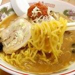 麺屋 雪国 - 麺 アップ!