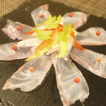 タベルナ44 - 真鯛のカルパッチョ