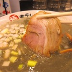 二代目極煮干し本舗 すすきの店 - 極濃煮干しとんこつラーメン780円