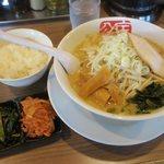 宝介 - ニラ南蛮ラーメン あっさり(¥810)