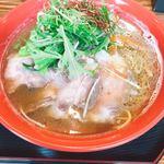 okometsukasafumiya - 九条ねぎと窯出しチャーシュー銀閣寺醤油ラーメン