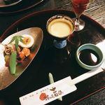 新和食吉田 - 料理写真:食前酒からスタート