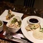タイレストラン タニサラ - カオマンガイset
