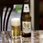 タイレストラン タニサラ - シンハービール