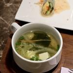 タイレストラン タニサラ - スープ