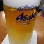 光栄軒 - 生ビール(キリンもあります)