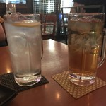 小籠包bar HASHIYA - レモンサワーと紅茶ハイ
