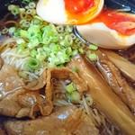 武士道 - 賄い黒醤油+味タマ♪