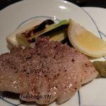 能登輪島 - 能登豚バラ肉の炭火焼