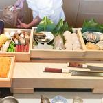 にい留 - 本日の食材