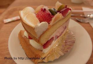 ハミングカフェ バイ プレミーコロミィ ecute上野店 - ショートケーキ