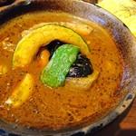 スパイス ポット - 料理写真:ブタ角煮&野菜のカレー(1050円)
