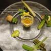 杢の抄 - 料理写真:前菜:ニセコ野菜盛り合わせ コンソメジュレ 香草味噌