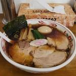 89949634 - チャーシュー麺(普通盛り)煮玉子トッピング