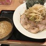 縄麺 男山 - つけ麺全部のせ  1150円