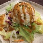 鳥道酒場 - 「自家製ポテトサラダ」390円也。