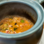 コンヴィーヴィオ - 料理写真:タコのトマトリゾット