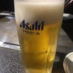 89950721 - やはりビールですねぇ( ̄▽ ̄)