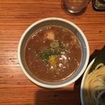 らー麺 鉄山靠 - つけ汁