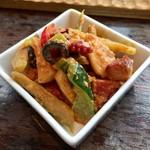 常陸野ブルーイング水戸 - 「ゴロゴロ野菜とタコのマリネ」450円(税込)