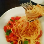 89953242 - 冷製フレッシュトマトのスパゲッティーニ¥1600
