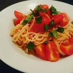 89953248 - 冷製フレッシュトマトのスパゲッティーニ¥1600