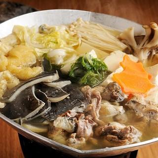【名物①】すっぽん出汁で雑炊必須!すっぽん丸鍋♪