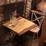 Cantina e Cucina - ぼっち専用の素敵な座席。