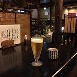 かみくら - ドリンク写真:生ビール小¥380