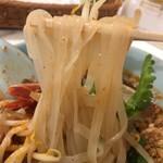 チェディルアン - 平打ちの米麺